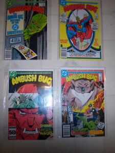 Comic books $5.00 each lot or all for $25 bagged & boarded