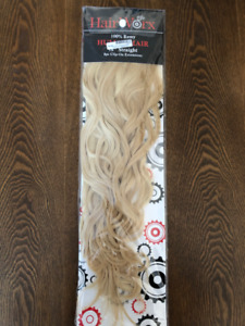100% Human Hair Clip-On Extensions