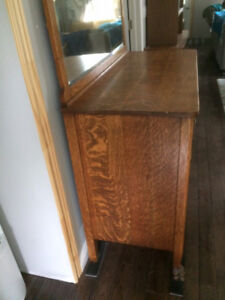 Quarter Cut/Tiger Oak Buffet for Sale