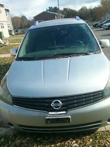 2007 Nissan Quest SE Minivan Fully Loaded. 2DVDs HEATED LEATHER