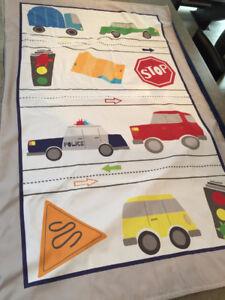 BABY BOY CAR CRIB BEDDING SET