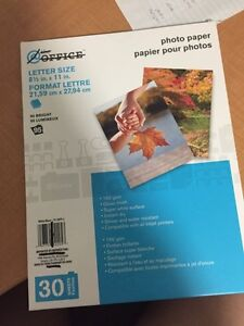 Photo paper 30 sheets