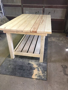 hand crafted softwood tables Stratford Kitchener Area image 6