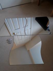 Three IKEA Wave Mirrors