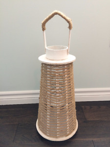 Rope Lantern / Candle Holder