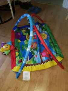 Infant Floor Mat/Toy & Extra Toy