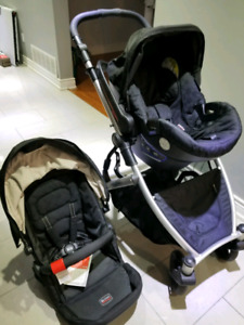 britax b ready stroller travel system in excellent condition