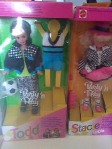 Barbie... Todd and Stacie dolls. Kingston Kingston Area image 1