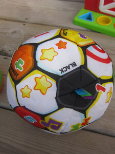 Fisher-Price Laugh & Learn Singing Soccer Ball