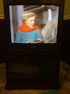"Sony Trinitron 27"" with stand"