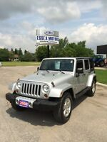 CLEAN 2008 Jeep Wrangler Sahara Unlimited  NO ACCIDENTS Windsor Region Ontario Preview