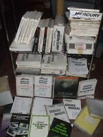 Over 100 Boat Motor and Snow Machine Manuals