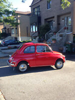 RARE 1970 FIAT 500L FOR SALE!! RUNS WELL - CLEAN - A MUST SEE!!