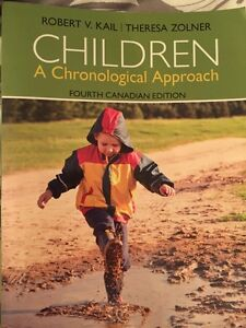 CHILDREN A chronological approach  4th CA Edition West Island Greater Montréal image 1