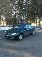 2000 Chrysler neon WITH INSPECTION AND CARPROOF