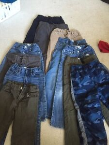 Boys size 6 Jeans, Pants, Sweaters and Long Sleeved Shirts!