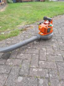 Husqvarna X series petrol leaf blower