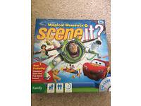 Disney scene it? Interactive DVD board game toy