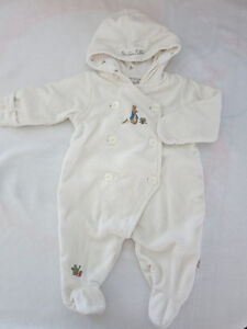 Beatrix Potter Hooded Jumpsuit (3 months)