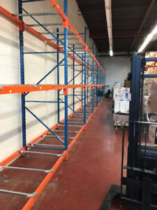 RACKING WAREHOUSE INDUSTRIAL PALLET & SHELVING @ GREAT $