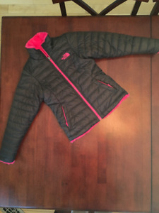 Girl's Size 7/8 - The North Face Reversible Jacket - Like New!