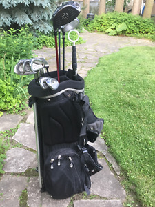 Nice used golf clubs and bag
