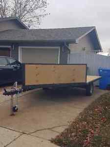 Homebuilt 2 place trailer drive on/off Regina Regina Area image 1