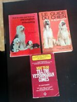 Dog/ Veterinary Books (see list)
