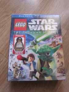 Brandnew Lego Star Wars Blu-ray DVD-Padawan Menace Strathcona County Edmonton Area image 1