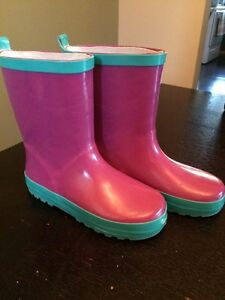 Size 12-13 girls rubber boots