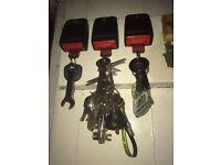 Seatbelt Buckle Key Rings