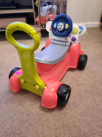 Fisher price 3 in 1 laugh and learn smart car
