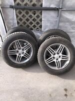 Mercedes Rims and Tires like NEW