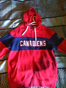 Reebok Montreal Canadiens Hoodie Men's Large