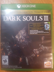 Day One Dark Souls 3 for Xbox One