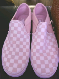 Vans Asher Check Rose