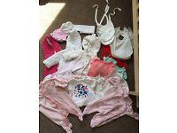 Newborn girls clothing bundle