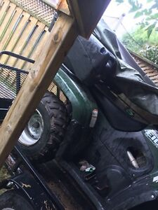 ATV for sale. Comes with plow & more  Cambridge Kitchener Area image 4