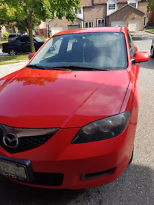 2008 Mazda 3 sedan - ORIGINAL OWNER - Accident Free