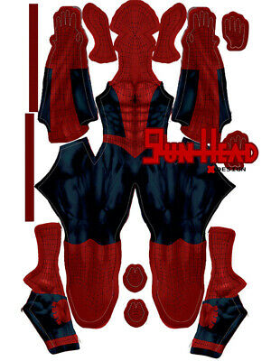 New Astonishing Spiderman 3D Printing Costume