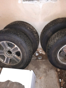 4 studded tires only used half a season