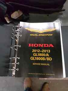 Honda Goldwing Shop Manual