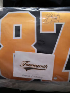 Signed Sydney Crosby Jersey with certificate of authenticity