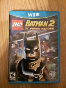 Wii U lego batman 2