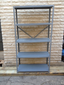 Steel Shelving Unit  -  Light Duty