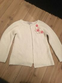 Girls rocha little rocha knitted cardigan