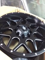Superduty wheels, 2 LRG aftermarket 20inch