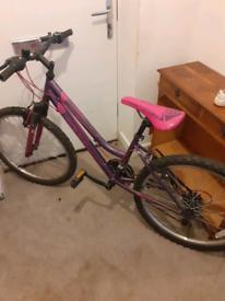 "Girls mountain bike 24"" wheels"