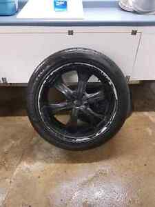 """22"""" GM/CHEVY rims and tires Kitchener / Waterloo Kitchener Area image 1"""