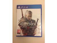 Witcher 3 PS4 mint